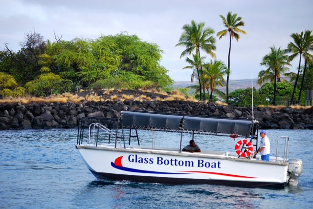 Glass Bottom Boat Rides - Hawaii Ocean Sports