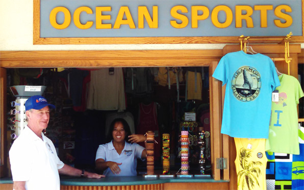 Ocean Sports Retail Store at the Hilton Waikoloa Village Resort