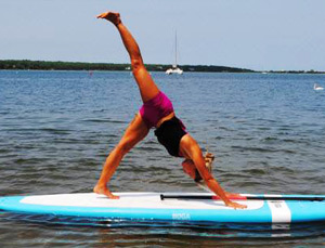 Stand-Up Paddle Board Yoga - SUP Yoga - Hawaii Ocean Sports
