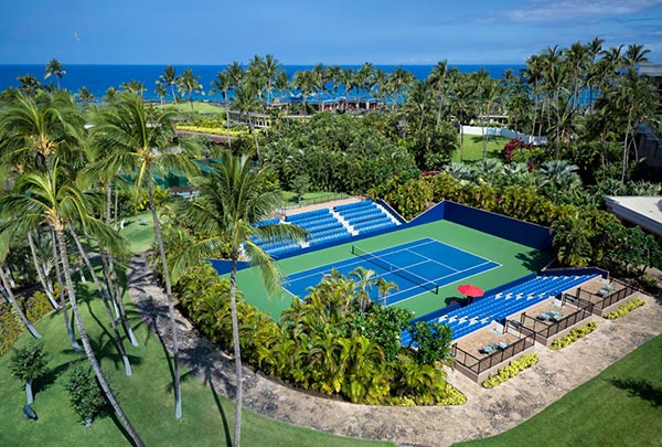 Tennis at the Hilton with Ocean Sports