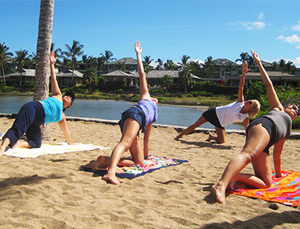Yoga on the Lagoon with Hawaii Ocean Sports