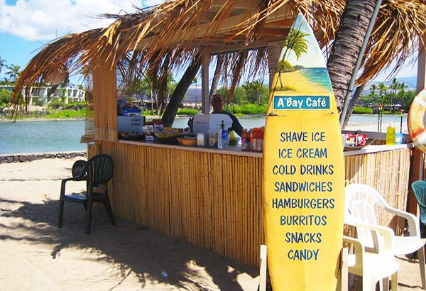 A'bay Café with Ocean Sports - Kohala Coast, Hawaii