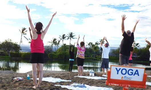 Ocean Sports - Beach Yoga