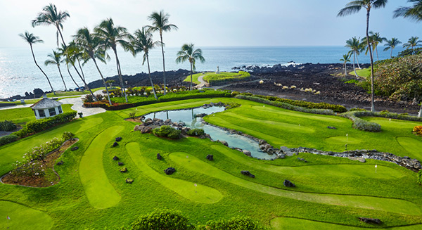 Family putting course - Ocean Sports Hawaii