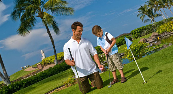 Family Friendly Put-put Golf Coruse - Ocean Sports Hawaii