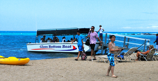 Glass Bottom Boat Boarding
