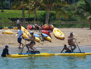 Hydro-bike and Ocean Kayak-rentals - Hawaii Ocean Sports