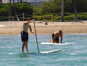Stand-up Paddle Board Rentals - Hawaii Ocean Sports