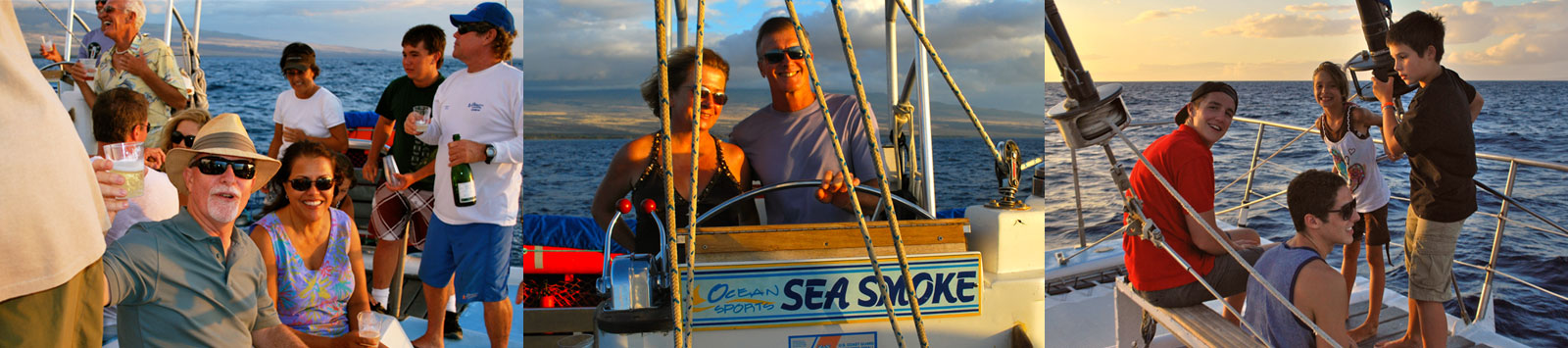 Hawaiian Ocean Sports - Champagne Sunset Sail and Cruises