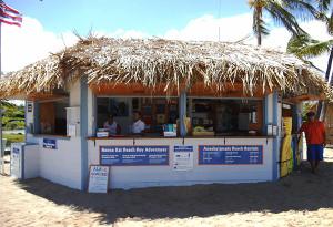Ocean Sports Beach Hut at A'bay