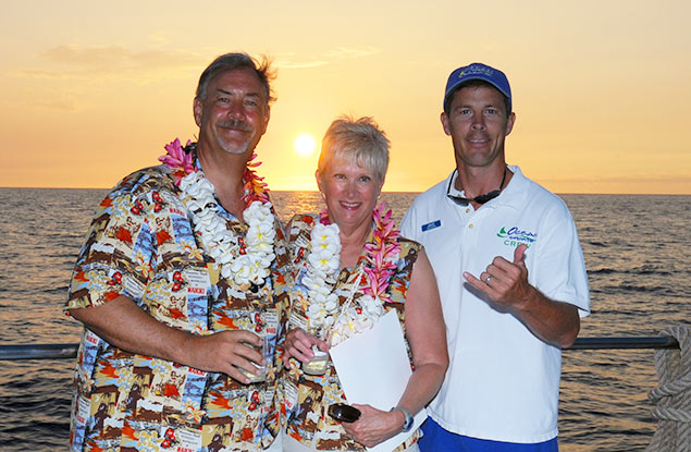 Renew Wedding Vows at See with- Hawaii Ocean Sports