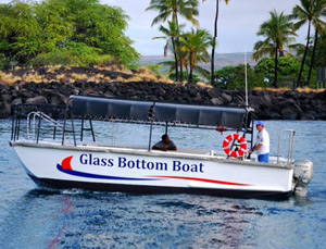 Glass Bottom Boat Rides - Hawaii Ocean Sport