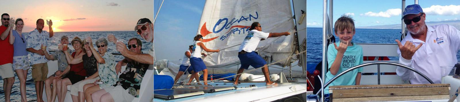Private Charters - Custom Cruises - Hawaii Ocean Sports