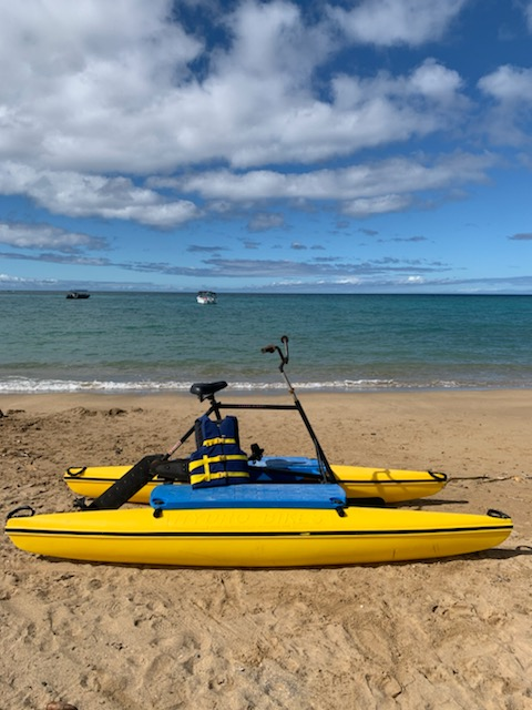Hydrobike Rental - Ocean Sports Hawaii