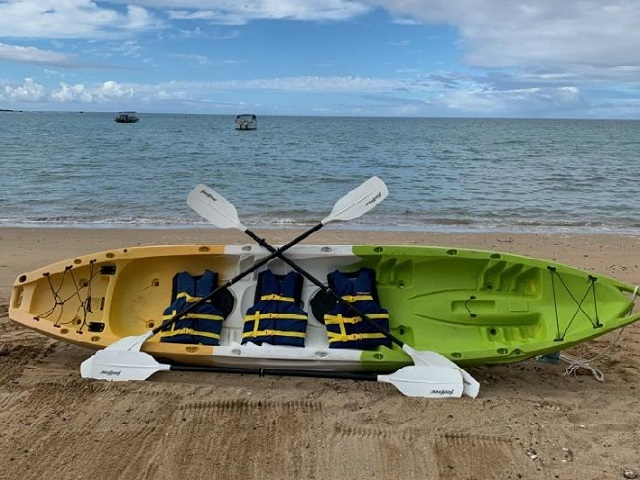 Triple Kayak Rental - Ocean Sports Hawaii