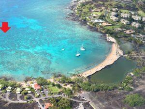 Humpbacks were inside of Anaeho'omalu Bay today!